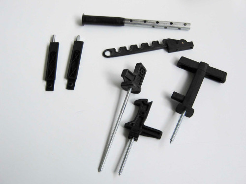 ARTICOLI PER L' EDILIZIA: Accessori per serramenti in legno e alluminio
